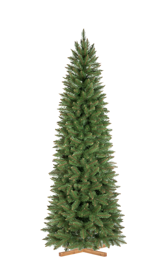 ARBRE DE NOËL ARTIFICIEL ÉPICÉA NATUREL SLIM