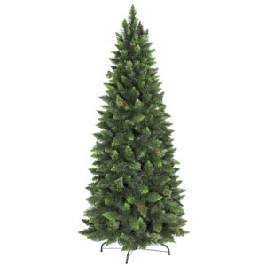 ARBRE DE NOËL ARTIFICIEL PIN NATUREL VERT SLIM
