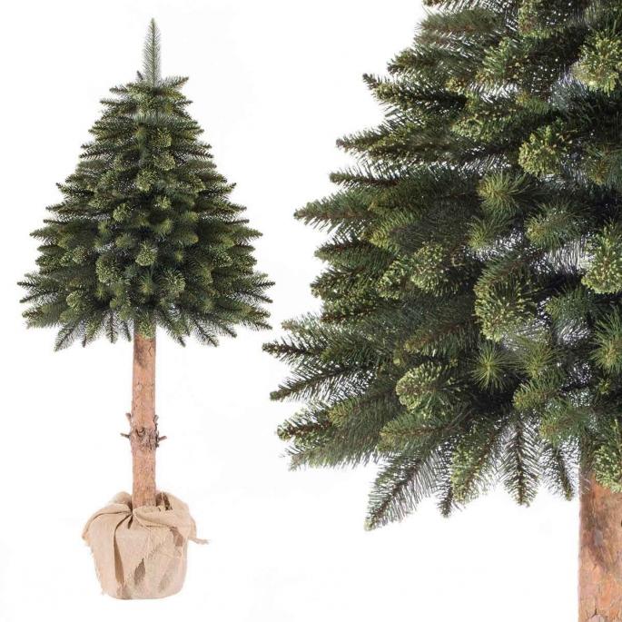 Un arbre sur le tronc – une alternative à l'arbre de Noël classique